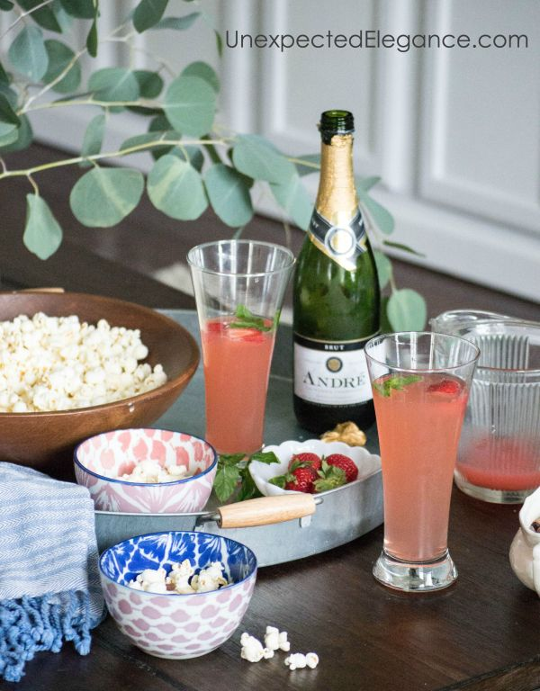 You know that feeling...you REALLY need a night out with your friends but the thought of getting dressed up is the last thing you want to do. Check out a few tips for a casual get-together with a POP of glam for the easiest entertaining ever.