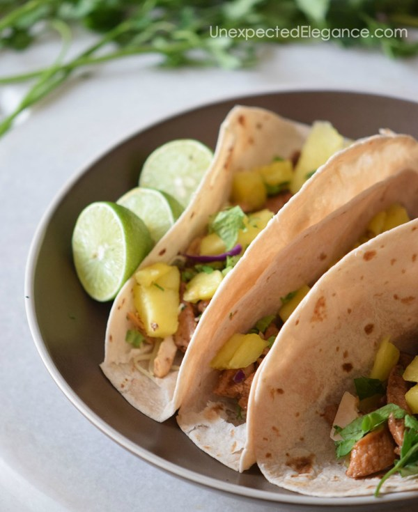 Pineapple Pork & Chicken Tacos-2