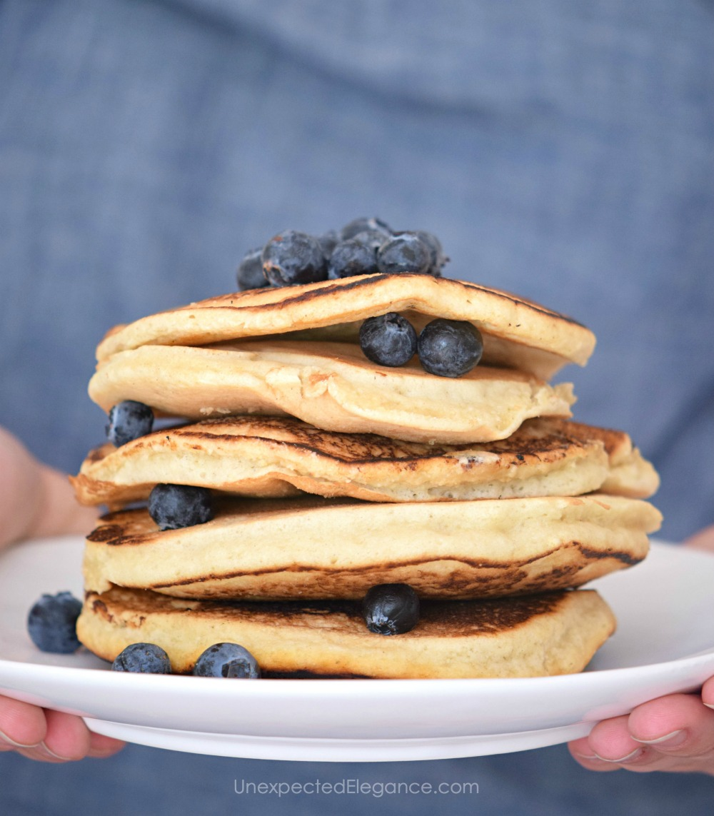 What's better than tasty pancakes? How about having them gluten free and vegan!