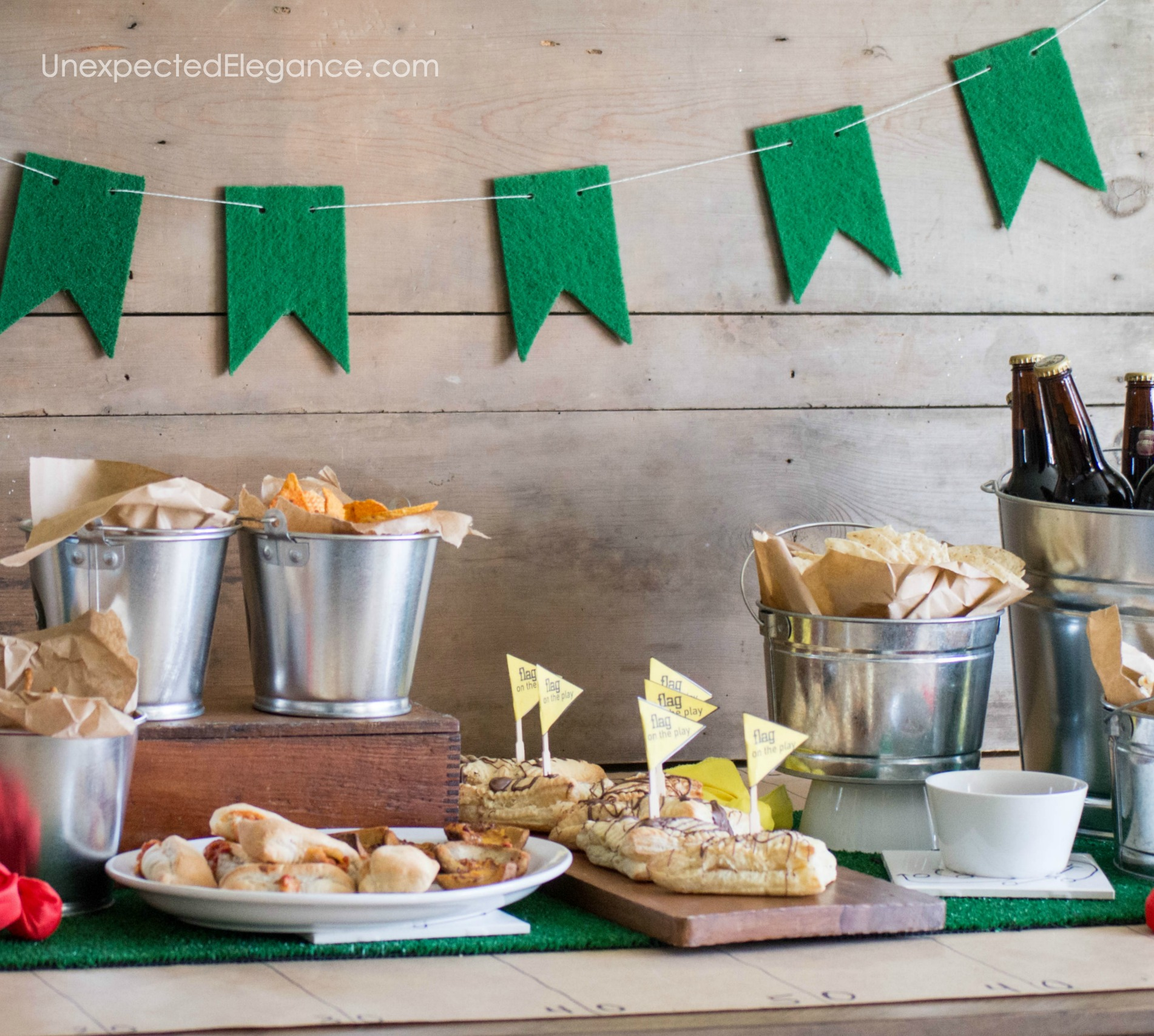 EASY Super Bowl Party Decor Ideas Unexpected Elegance