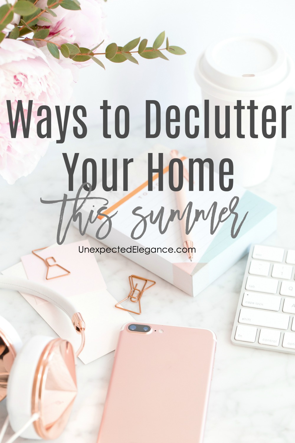 Are you overwhelmed with the amount of clutter in your home? There are a few ways to declutter your home and create a less-stressed environment! Click here to get started!