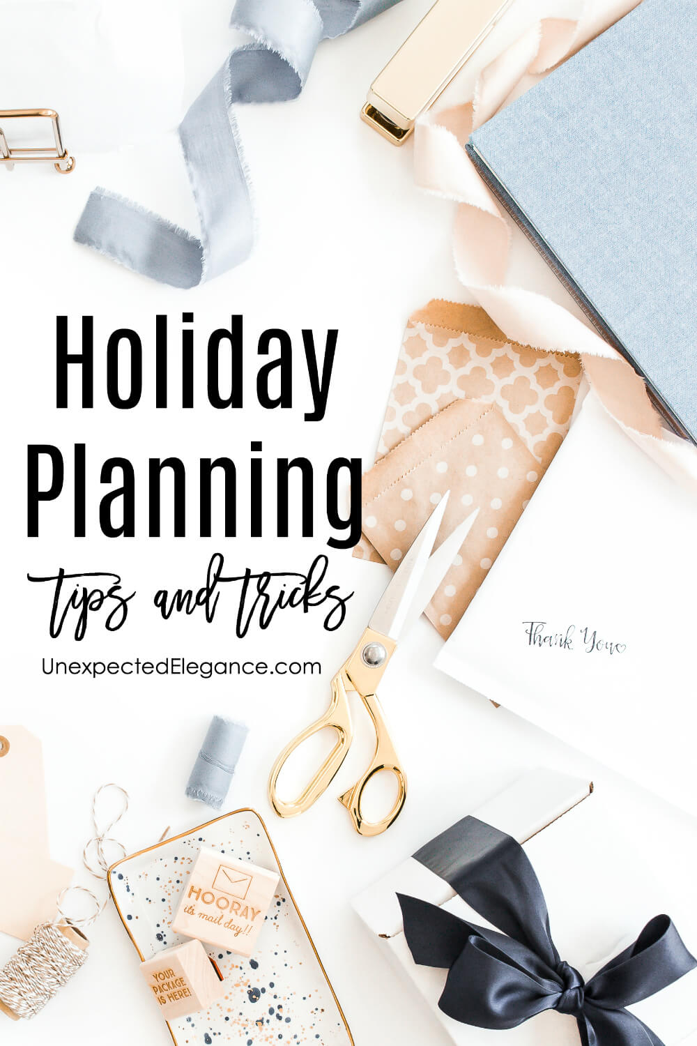 Get tips and tricks for saving time and money this holiday season. Also download a FREE holiday planning guide.