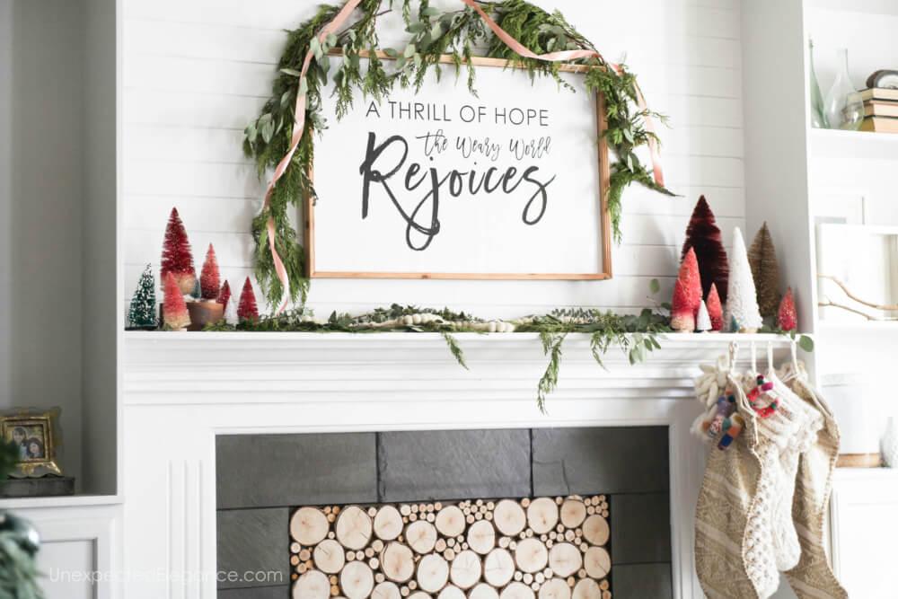 Simple Christmas decor ideas!