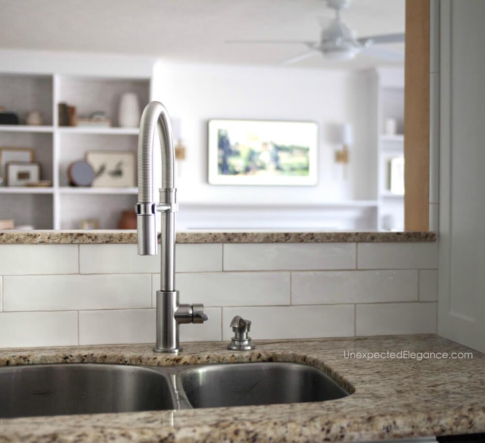 new kitchen faucets orc progress