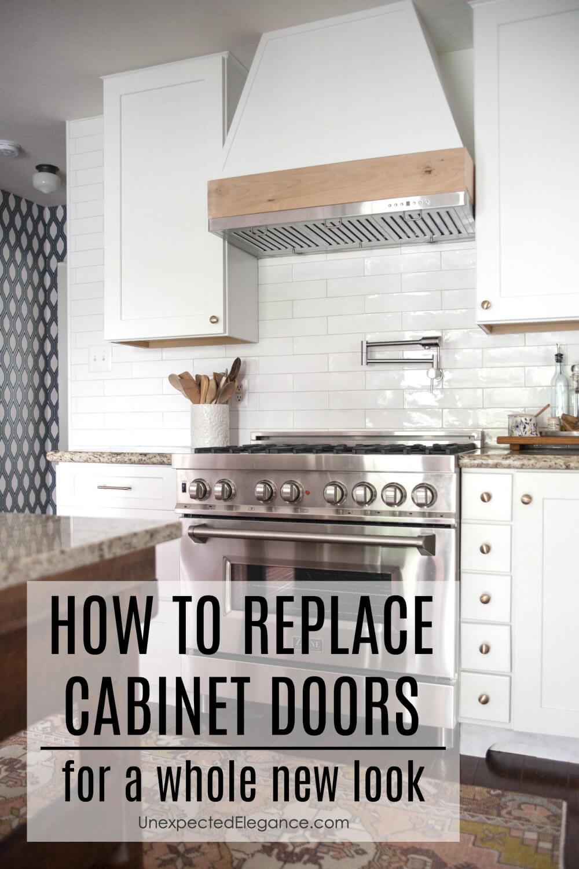 Replacing Cabinet Doors Unexpected Elegance