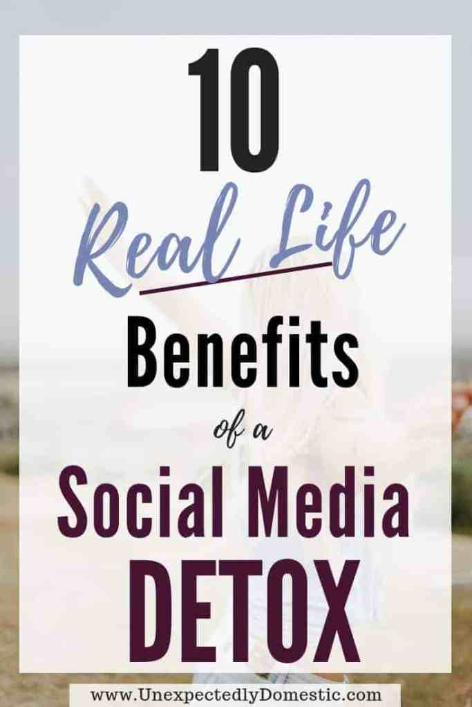 Here are 10 reasons to consider a social media detox. If you've wanted to take a social media break, check out all these benefits!