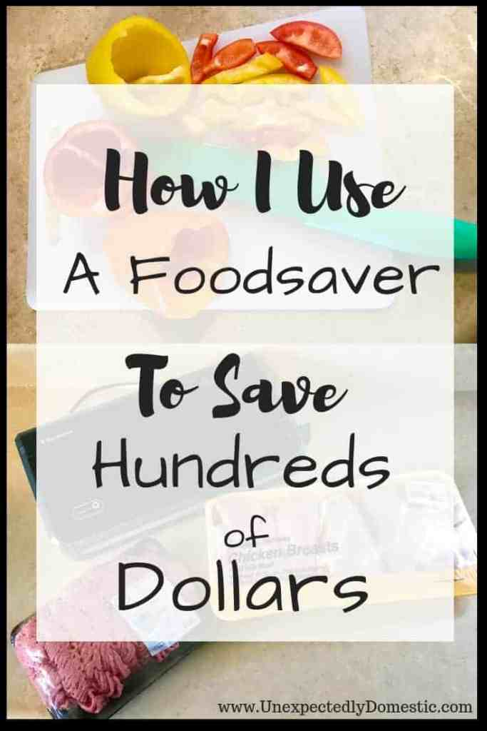 Foodsaver review and tutorial