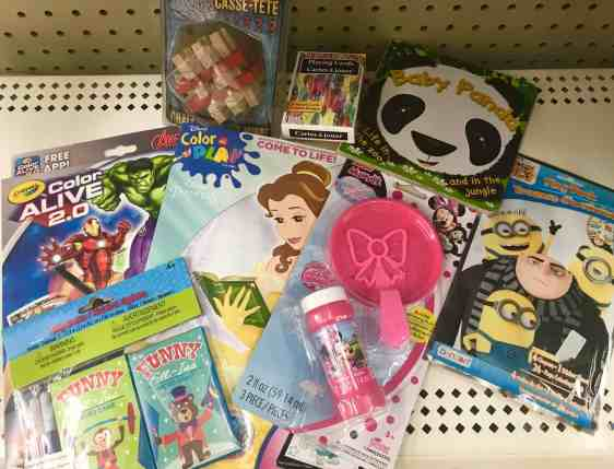 dollar store travel items