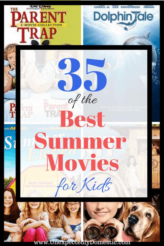 best summer movies for kids
