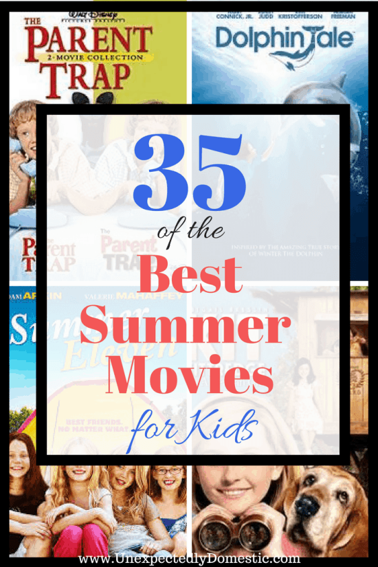 best summer movies for kids