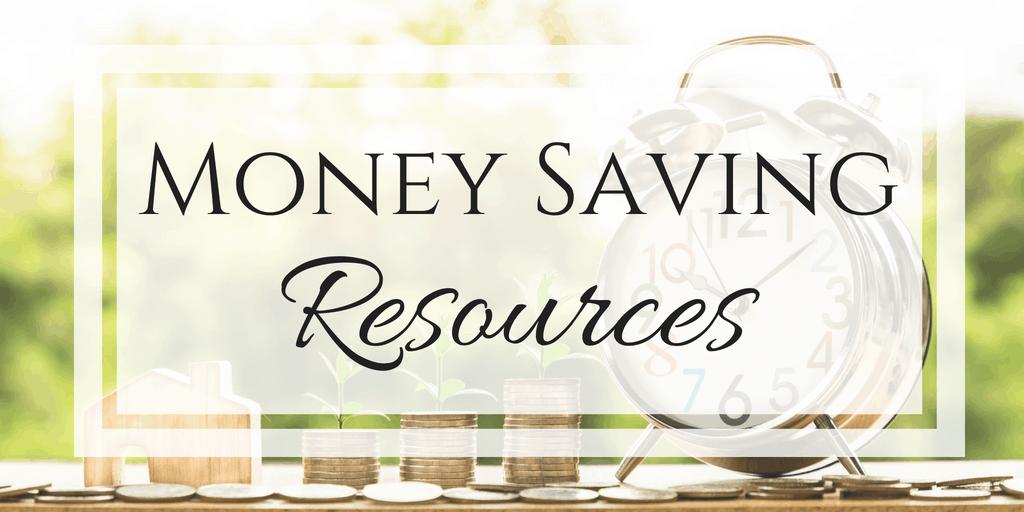 money saving resources