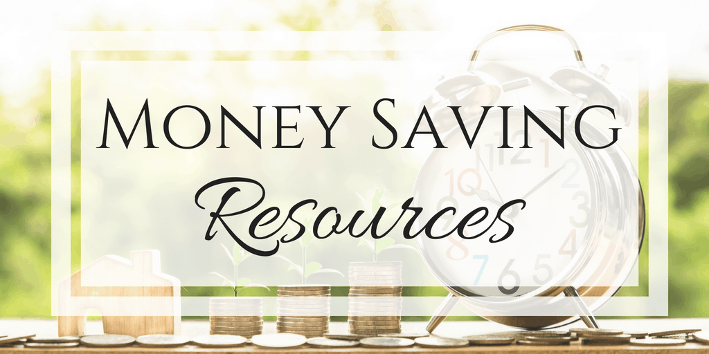 money saving resources