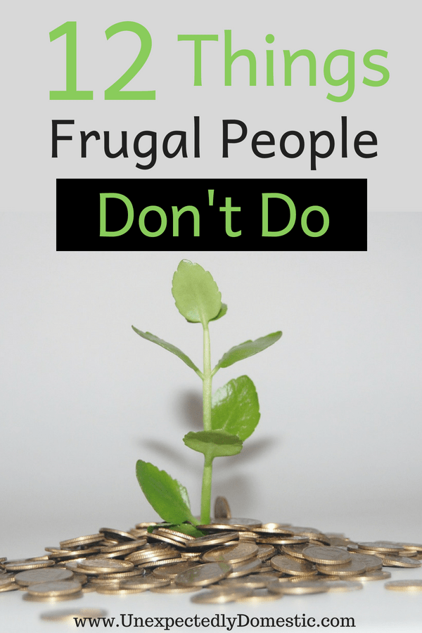 how to become a frugal person