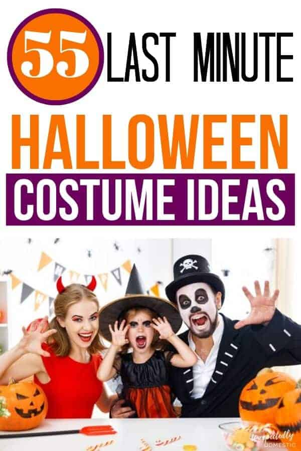 55 Last Minute Homemade Costume Ideas For Halloween