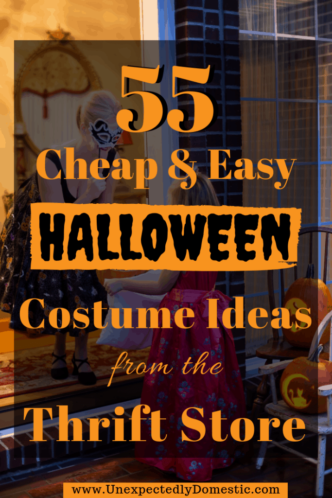 cheap and easy Halloween costume ideas
