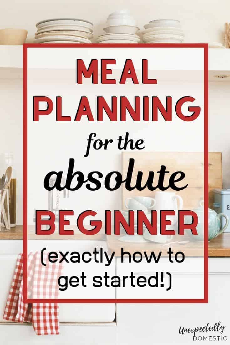 Check out these 10 super easy meal planning tips, and learn how to get started meal planning today! These simple menu planning hacks will inspire you!