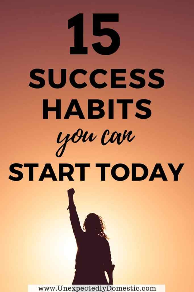 Check out these 15 rich people habits that will help you be more productive and successful. Take a peek at the daily habits of successful people!
