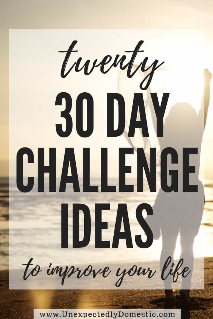 Ultimate List of 7 Day Challenge Ideas (to really change your life!)