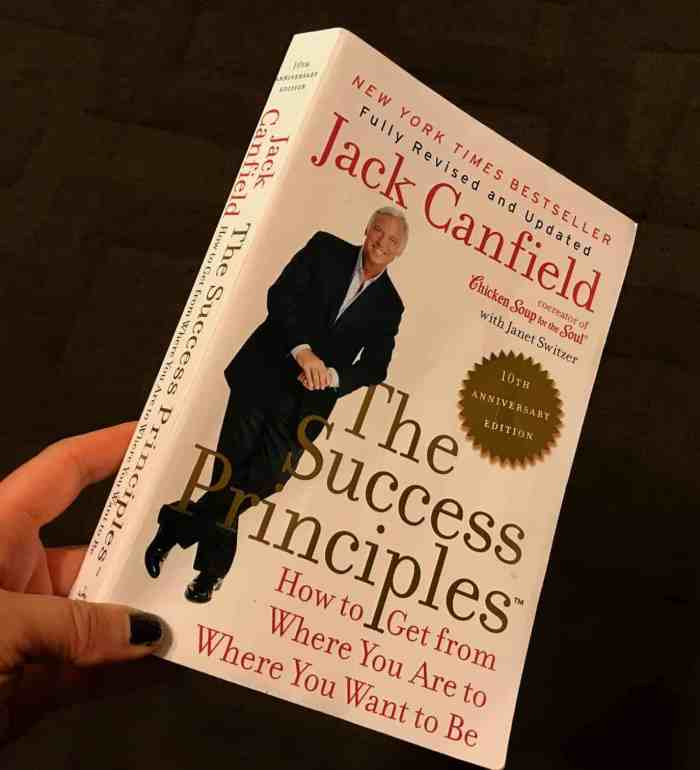 The Success Principles book review