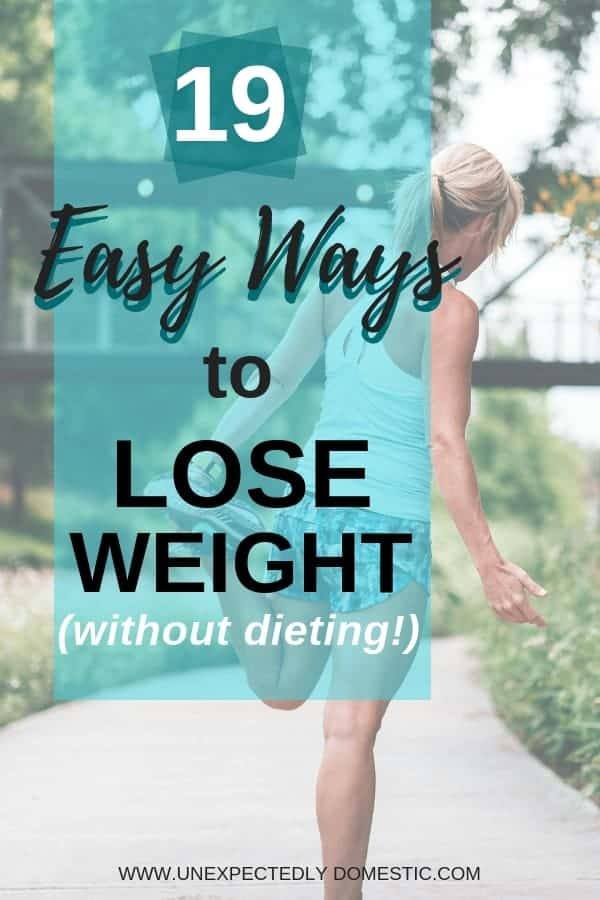 Check out these easy tips for how to lose weight naturally and permanently. Here are 19 ways to lose weight without dieting or suffering!