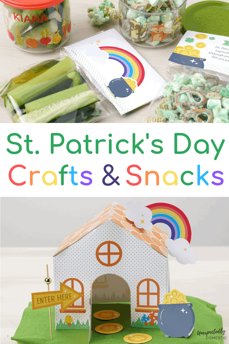 Cute St Patrick S Day Crafts Leprechaun Bait And Trap