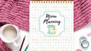 Meal Planning on a Budget (+ cute weekly meal planner!)