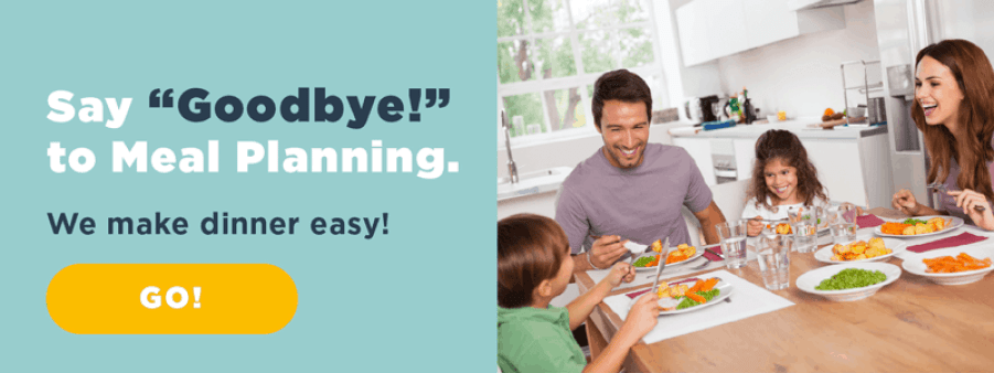 the easiest way to meal plan