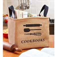 Cookbook Storage Bin