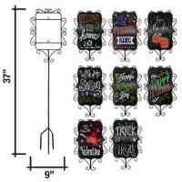 Set of 8 Interchangeable Seasonal Yard Stake Set