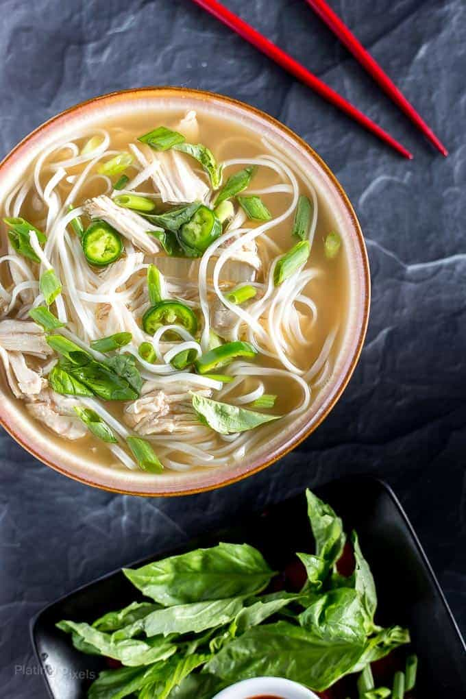 Easy Slow Cooker Chicken Pho Soup