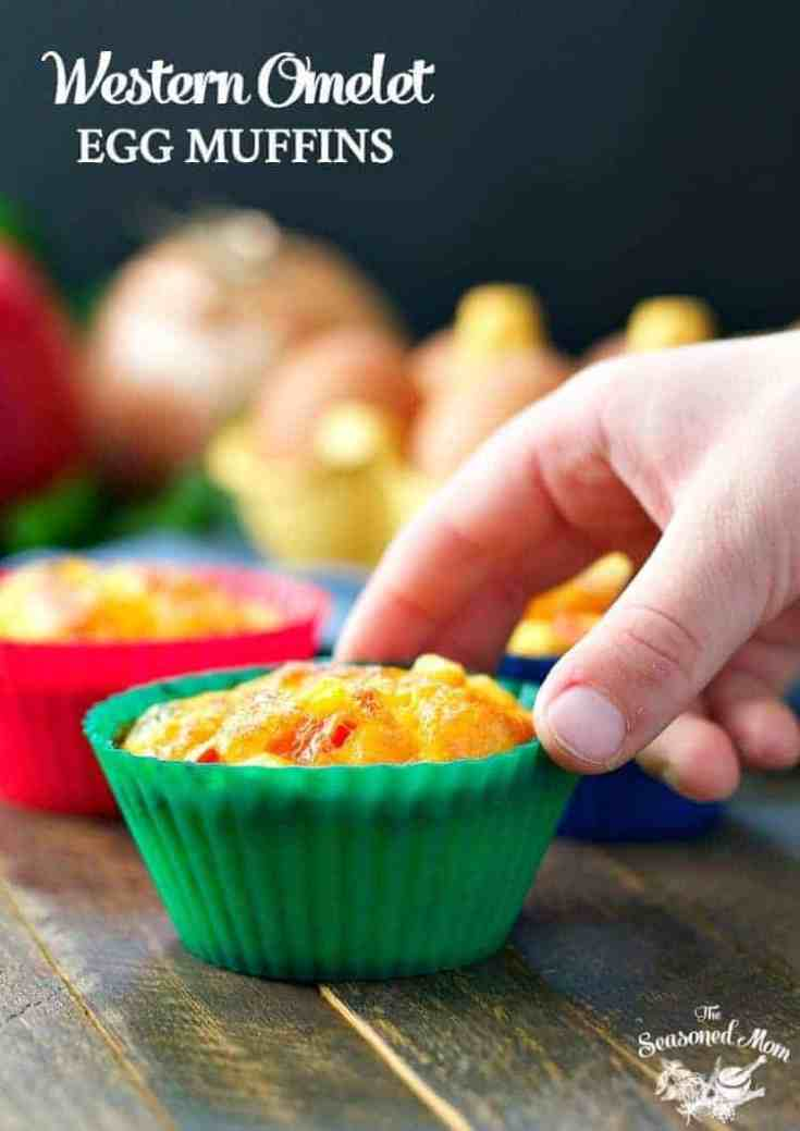 Freezer-Friendly Western Omelet Egg Muffins