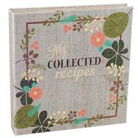 Vintage FlowersFabric-Covered Recipe Binder