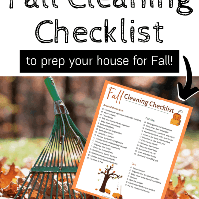 The Ultimate Fall Cleaning Checklist – How to Prep Your House for Fall