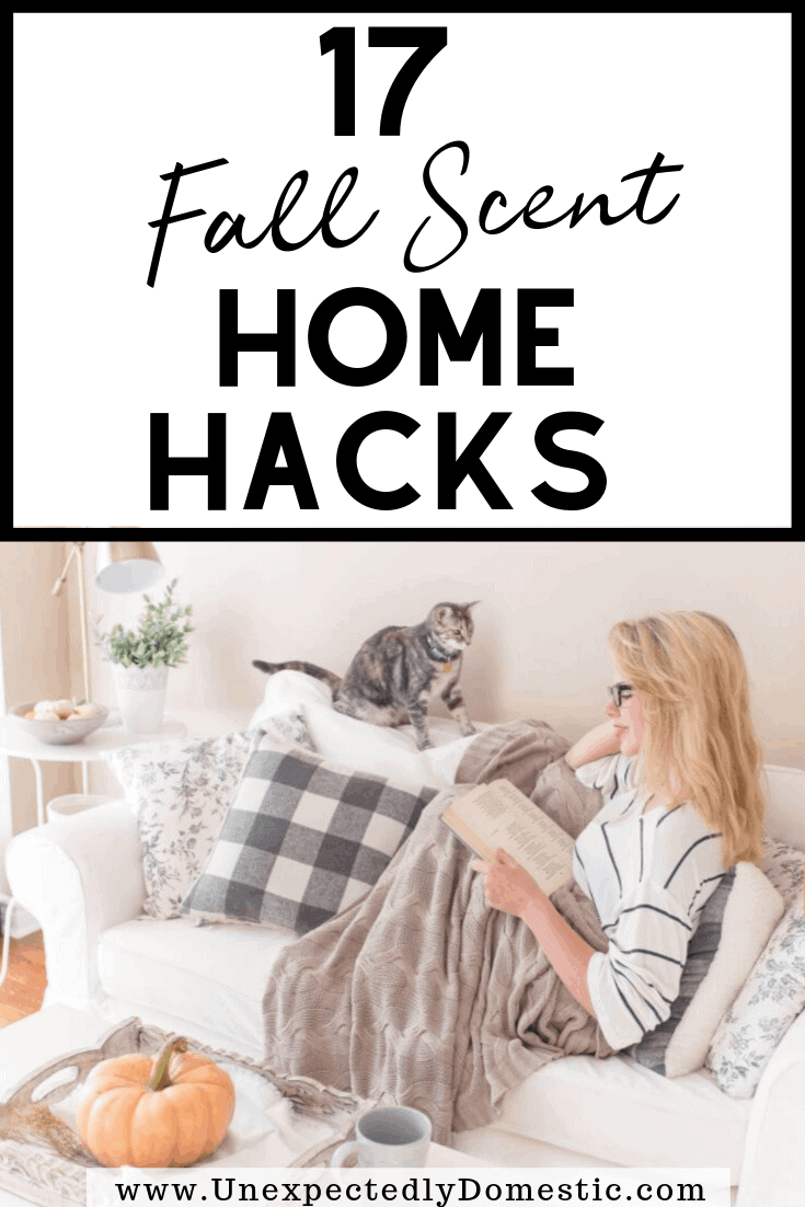 Want to evoke all the cozy Fall feels? Try these unique ways to make your house smell like Fall, naturally! Bring on those good autumn scents!