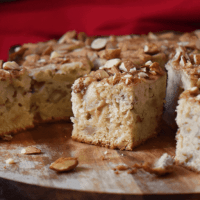 Almond Apple Cake: An Easy Apple Dessert