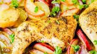 Apple Chicken & Veggies