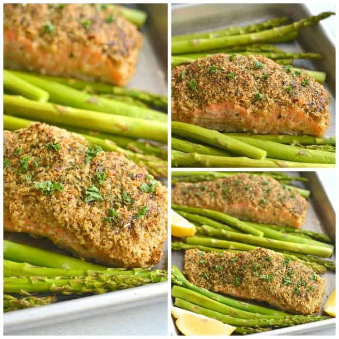 Crispy Oven Fried Salmon