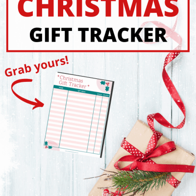 Free Printable Christmas Gift Tracker