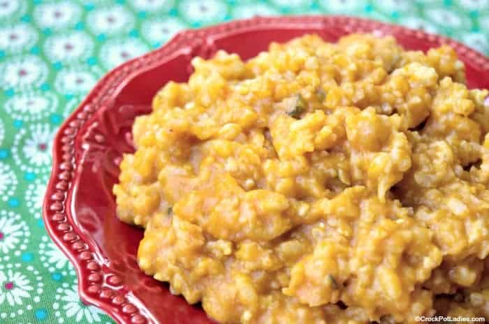 Crock-Pot Pumpkin Risotto