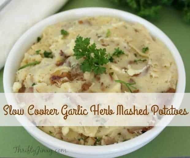 Garlic Herb Mashed Potatoes Recipe