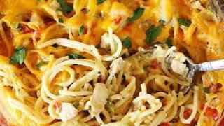 Turketti {aka: Leftover Turkey Spaghetti Casserole}