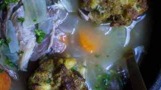 Turkey and Dumplings Soup
