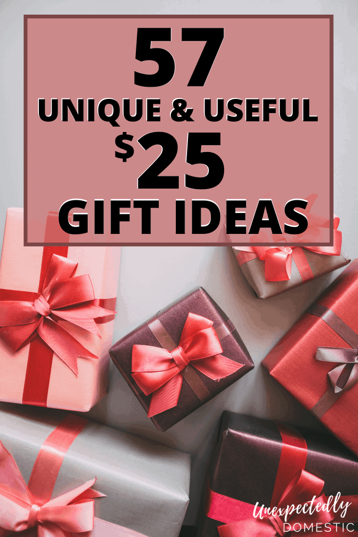 57 Creative Unique Gift Ideas Under 25 That People Will Love