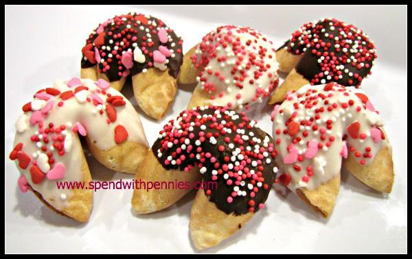 Easy Sprinkle Fortune Cookies