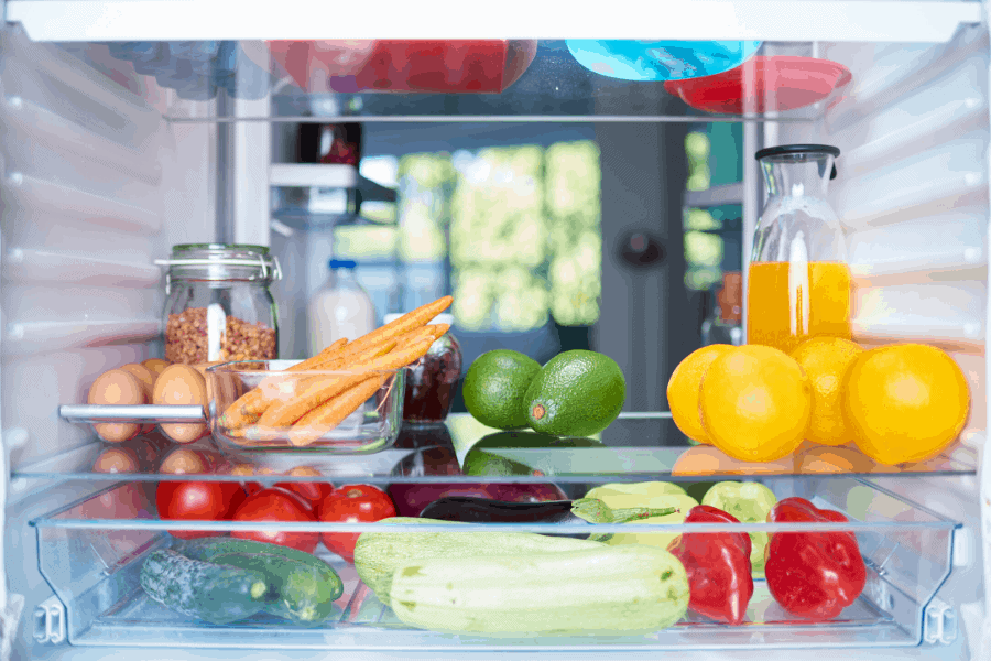 How to keep food fresh longer! Exactly how to store produce and food so it lasts longer, so you can eliminate food waste and stretch your grocery budget.