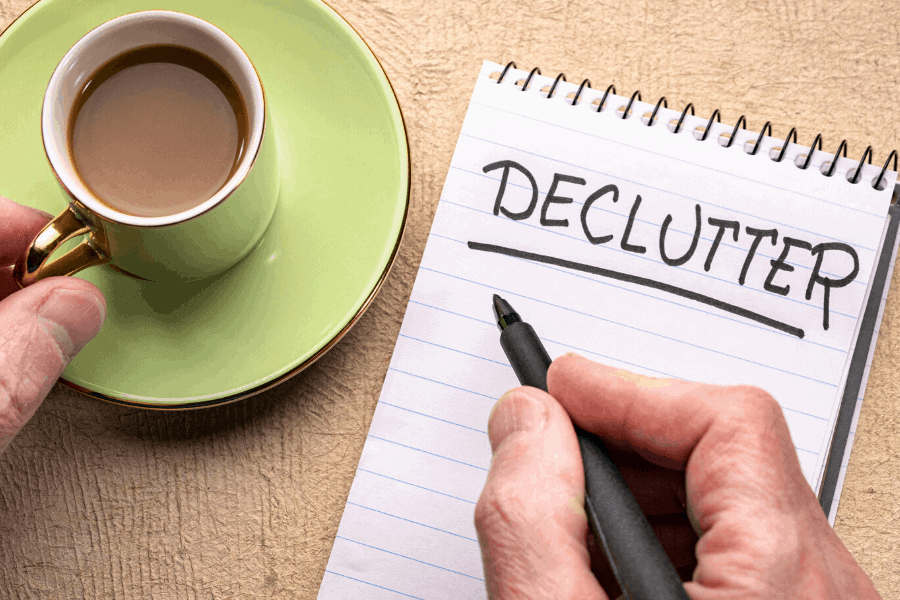Follow this 15 day declutter challenge to help you get control of your messy house fast! Use this step-by-step process to make decluttering your home finally feel possible.