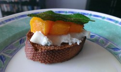 Crostini Topping - Squash Sage Chilli Cheese