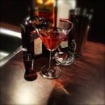 A photo of a Cosmopolitan cocktail