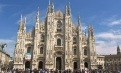 A photo of the Duomo - Milan, Italy