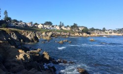 A photo of the coast - Monterey, California, United States of America